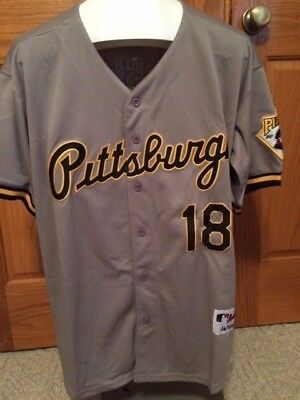 new style c047b 7666d NEW ANDY VAN Slyke Pittsburgh Pirates Throwback Jersey Free Shipping