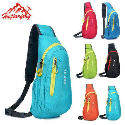Dacron Waterproof Casual Sports Chest Pack Crossbody Single shoulder Bags