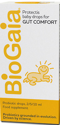 BioGaia ProTectis- 5 ml.  DROPS- REDUCE COLICS- PROBIOTIC- BABY- CHILDREN