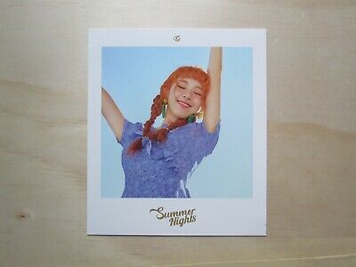 [TWICE] Chaeyoung Polaroid Summer Nights 2nd Special Album Postcard (Photocard)