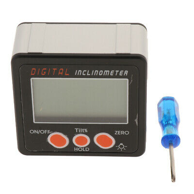 Mini Digital Angle Gauge Level Protractor Angle Finder Bevel Gauge IP54~