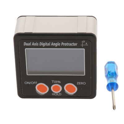 Digital Angle Gauge,Level Protractor Angle Finder Bevel Gauge Inclinometer~