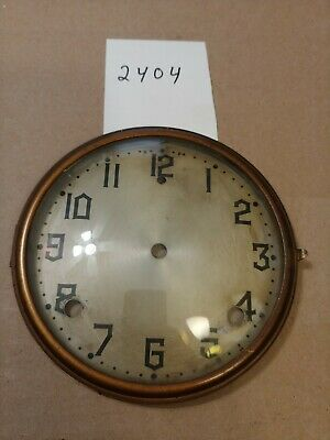 Gilbert Tambour Mantle  Clock Dial And Bezel With Glass