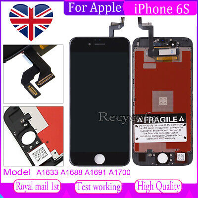 For iPhone 6S Screen Replacement LCD Touch Display Digitizer Assembly Black