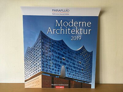 New - Calendar 2019 MODERNE ARCHITEKTUR Calendario 2019 - Nuevo