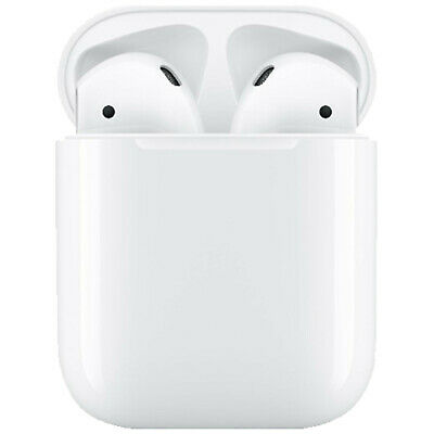 APPLE AirPods mit Ladecase 2. Gen, In-ear True Wireless Kopfhörer Bluetooth Weiß