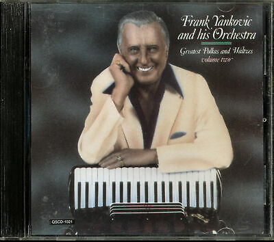 Frank Yankovic and his Orchestra - Greatest Polkas & Waltzes, Vol. 2 (CD, 1993)