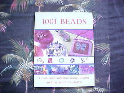 1001 Beads Great Book for Craft Hobby Beading BEADS HOBBIES ISBN 0715317938