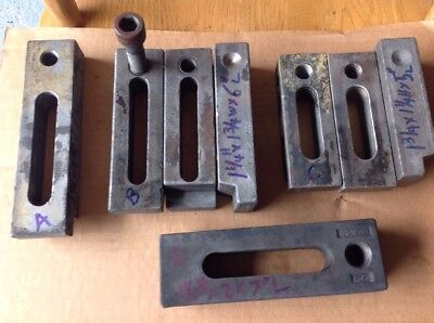 Mold Clamps, Hold Down Clamps, Die Clamps, Strap Clamps