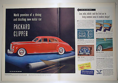 Merchandise & Memorabilia 1940-49 Vintage 1941 Magazine Ad For Packard Handsomest Thing That Runs On Rubber