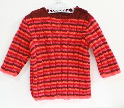 Pull vintage multicolore - 18 mois