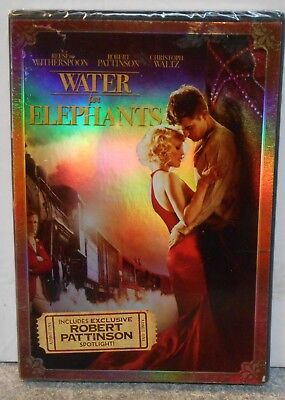 Water for Elephants (DVD, 2011) ROMANCE DRAMA REESE WITHERSPOON BRAND NEW