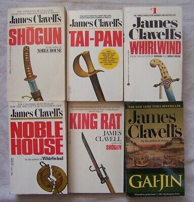The-Asian-Saga-by-James-Clavell-Complete