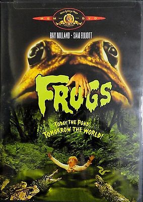 Frogs (DVD, 2000) 1972 HORROR RARE  BRAND NEW SOME OF WRAPPER TORE