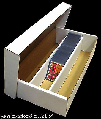 (50) CSP COLLECT*SAVE*PROTECT Super Triple Shoe 3 Row Trading Card Storage Box