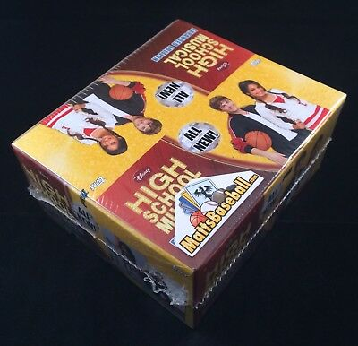 High School Musical 2 Expanded Edition Factory Sealed Trading Card Box 24 packs