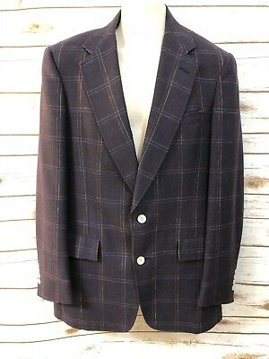 Austin Reed Of Regent Street Sport Coat Jacket Plaid Beige Gray Wool 40r No Tag 39 99 Picclick