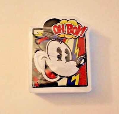Disney Parks Mickey Mouse Peppermint Mints In 3D Tin NEW Sealed
