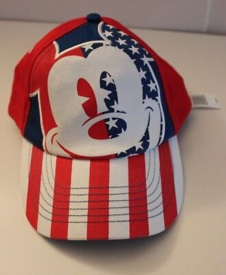 Disney Parks Mickey Mouse All American Youth Baseball Hat New with Tags