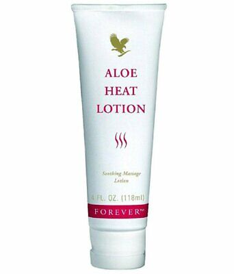 Forever Living Aloe Heat Lotion Massage  4 fl oz Brand New An ideal Soothing