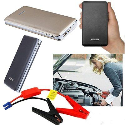 30000mAh Portable Car Jump Booster LED Charger Emergency Start Power Bank IC