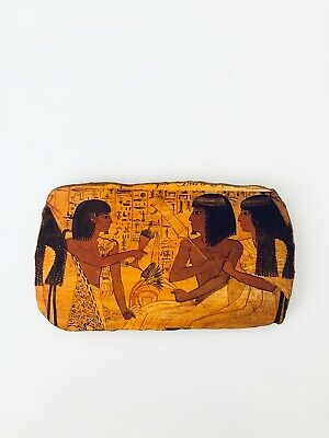Vintage Reproduction Souvenir EGYPTIAN Pottery Fragment 1547-1235 BC