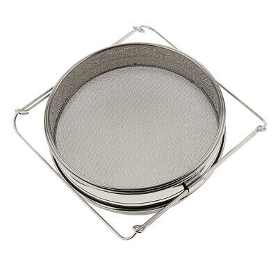 Double Stainless Steel Honey Sieve , Strainer, Filter Beekeepers Supplies