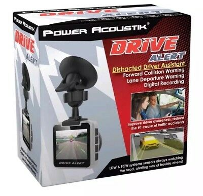 Power Acoustik Drive Alert Distracted Driver Assistant With Collision Warning