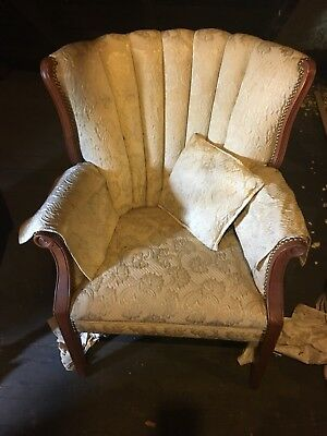 Vintage Channelback Chair