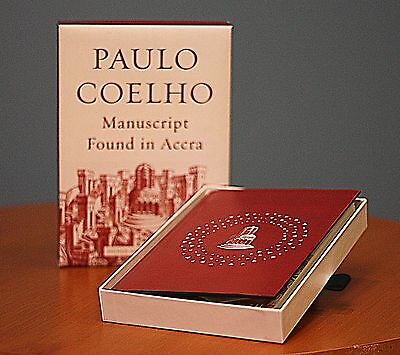 Manuscript Found in Accra by Paulo Coelho -  Signed Limited Edition!!!