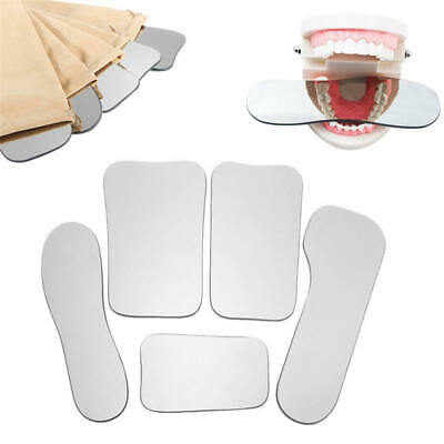 Dental Clinic Orthodontic Intra-Oral Photography Reflector Mirrors 2-sided Glass