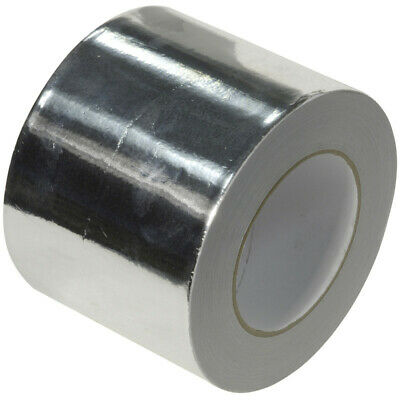 Kingspan 96Mm X45M Aluminium Foil Tape Heat Insulation Reflecting Self Adhesive