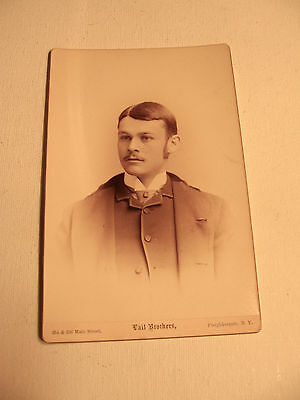 Cabinet Photo of Young Gentleman in 1888