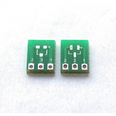 20pcs Dual Side SMD SMT SOT223 SOT89 to DIP SIP3 Adapter PCB Board Converter