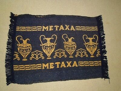 Greece Greek  Antique  Apron Metaxa Very Rare