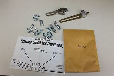 HONEYWELL Damper Adjustment Guide 7617ACL NOS (Loc:*HY*)