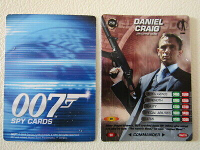 Danjaq 2008 ~ James Bond 007 Spy Cards Card Variants No`s 141 - 275 (E17)