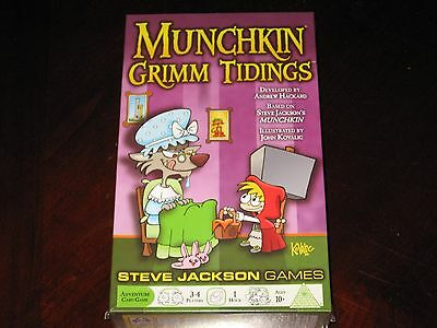 MUNCHKIN Grimm Tidings Walgreen Exclusive Brand New