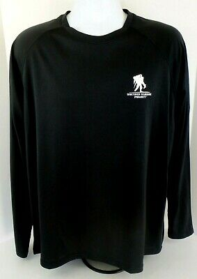 6b92139a MEN'S Under Armour Freedom WWP Wounded Warrior Project LS Black Shirt XL