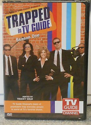 TV Guide Presents -Trapped in TV Guide: Season 1 (DVD 2007 2-Disc Set) BRAND NEW