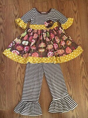 Jelly Pug girls two piece outfit size 5