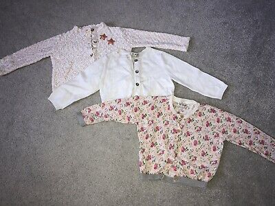 Baby girls cardigans 12-18 months (3 Items) Next and Zara