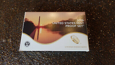 2019 S US Mint Proof Set - In Stock - 10 Coins Only    No Extra W Cent  Included