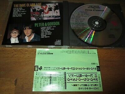 THE DAVE CLARK FIVE vs. PETER & GORDON  Japan-Press. mit OBI rare Split-CD