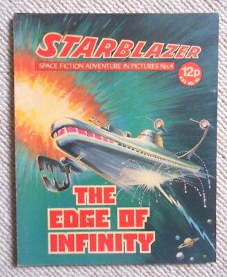 Starblazer Space Fiction Adventure In Pictures Comic No.4 1979