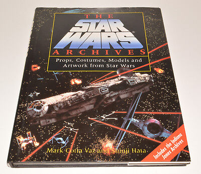 Cotta Vaz, Hata THE STAR WARS ARCHIVES hb dj 1995 excellent