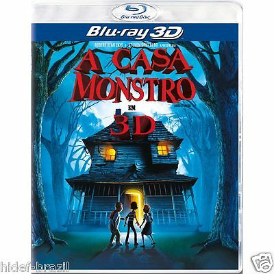 Blu-ray 3D Monster House [ A Casa Monstro ] [English+French+Spanish+Portuguese]