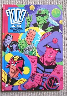 2000AD Annual 1991 .BRITISH CHRISTMAS ANNUAL . EXCELLENT CONDITION.