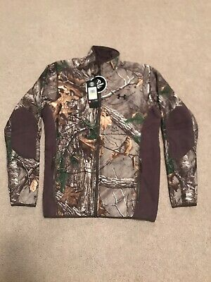70e8d5d752236 Under Armour Scent Control Stealth Fleece Jacket Realtree 1279673-947 Medium