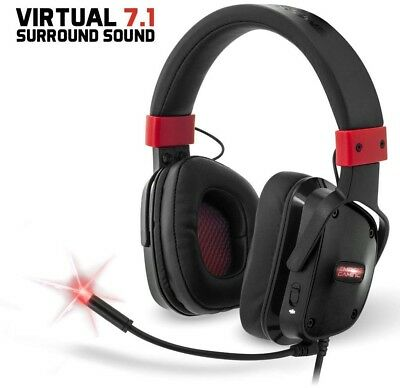 Empire Gaming H1300 - Casque Gamer PC Son Surround 7.1 Virtuel, micro PC et PS4